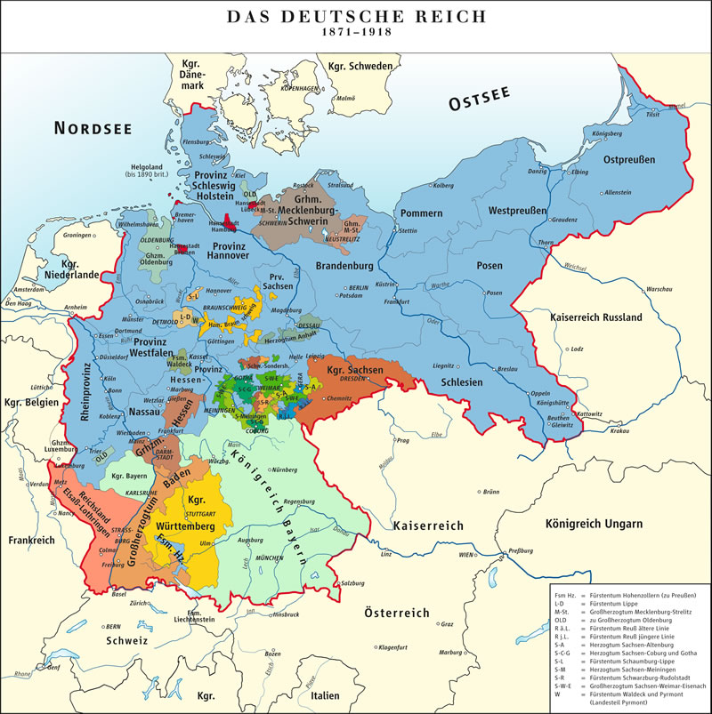 Nasce l'Impero tedesco