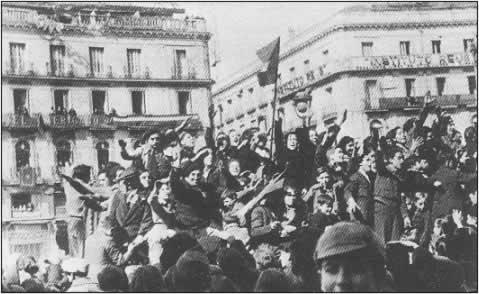 Franco conquista Madrid