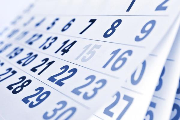 Calendario e orari
